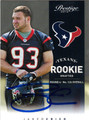 JARED CRICK AUTOGRAPHED ROOKIE FOOTBALL CARD #111112C