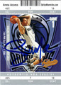 STEVE NASH AUTOGRAPHED BASKETBALL CARD #111112O
