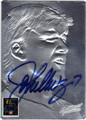 JOHN ELWAY AUTOGRAPHED FOOTBALL CARD #111112M