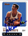 DAVE DEBUSSCHERE AUTOGRAPHED BASKETBALL CARD #111112Q