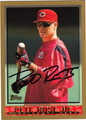 PETE ROSE JR AUTOGRAPHED ROOKIE BASEBALL CARD #11112J