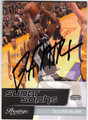 DeJUAN BLAIR SAN ANTONIO SPURS AUTOGRAPHED ROOKIE BASKETBALL CARD #11113A