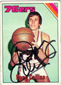 DOUG COLLINS AUTOGRAPHED VINTAGE BASKETBALL CARD #111212D