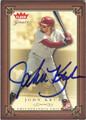 JOHN KRUK PHILADELPHIA PHILLIES AUTOGRAPHED BASEBALL CARD #11113G