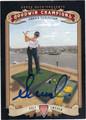 ANNIKA SORENSTAM AUTOGRAPHED GOLF CARD #111212B