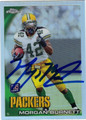 MORGAN BURNETT AUTOGRAPHED FOOTBALL CARD #111510A