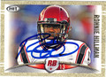 RONNIE HILLMAN AUTOGRAPHED ROOKIE FOOTBALL CARD #111612A