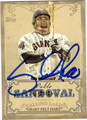 PABLO SANDOVAL SAN FRANCISCO GIANTS AUTOGRAPHED BASEBALL CARD #111713F