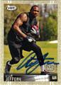 ALSHON JEFFERY AUTOGRAPHED ROOKIE FOOTBALL CARD #111912A