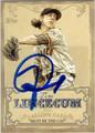 TIM LINCECUM SAN FRANCISCO GIANTS AUTOGRAPHED BASEBALL CARD #111813D