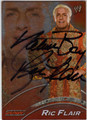 RIC FLAIR AUTOGRAPHED WRESTLING CARD #111813E