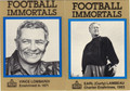 "VINCE LOMBARDI & EARL ""CURLY"" LAMBEAU SET OF 2 FOOTBALL CARDS #111912K"