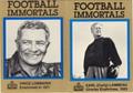 "VINCE LOMBARDI & EARL ""CURLY"" LAMBEAU SET OF 2 FOOTBALL CARDS #111912K"