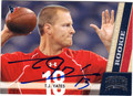 TJ YATES HOUSTON TEXANS AUTOGRAPHED ROOKIE FOOTBALL CARD #112113D