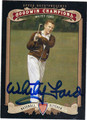 WHITEY FORD AUTOGRAPHED BASEBALL CARD #112112C