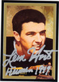 LEON HART AUTOGRAPHED FOOTBALL CARD #112211R