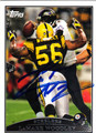 LaMARR WOODLEY AUTOGRAPHED FOOTBALL CARD #112212H
