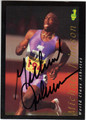 MICHAEL JOHNSON OLYMPIC TRACK AUTOGRAPHED CARD #112213D