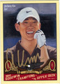 ANTHONY KIM AUTOGRAPHED GOLF CARD #112211A