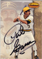 PHIL GARNER PITTSBURGH PIRATES AUTOGRAPHED BASEBALL CARD #112313J