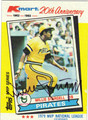 WILLIE STARGELL AUTOGRAPHED VINTAGE BASEBALL CARD #112412D