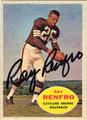 RAY RENFRO AUTOGRAPHED VINTAGE FOOTBALL CARD #112412i