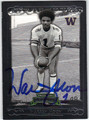 WARREN MOON AUTOGRAPHED FOOTBALL CARD #112512B