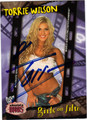 TORRIE WILSON AUTOGRAPHED WRESTLING CARD #112510W
