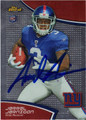 JERREL JERNIGAN AUTOGRAPHED ROOKIE FOOTBALL CARD #112512D