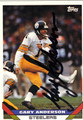 GARY ANDERSON AUTOGRAPHED FOOTBALL CARD #112512F