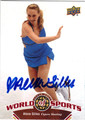 ALEXE GILLES AUTOGRAPHED FIGURE SKATING CARD #112513L