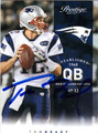 TOM BRADY AUTOGRAPHED FOOTBALL CARD #112612B