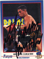 HECTOR CAMACHO AUTOGRAPHED BOXING CARD #112712D