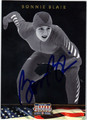 BONNIE BLAIR AUTOGRAPHED OLYMPIC SPEED SKATING CARD #112712J