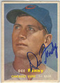 DEE FONDY CHICAGO CUBS AUTOGRAPHED VINTAGE BASEBALL CARD #112713H