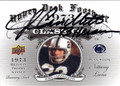 JOHN CAPPELLETTI PENN STATE NITTANY LIONS AUTOGRAPHED FOOTBALL CARD #112613D