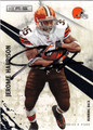 JEROME HARRISON AUTOGRAPHED FOOTBALL CARD #112711R