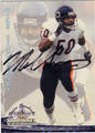 MIKE SINGLETARY CHICAGO BEARS AUTOGRAPHED FOOTBALL CARD #112613H