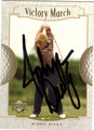JOHN DALY AUTOGRAPHED GOLF CARD #112811G