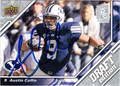 AUSTIN COLLIE AUTOGRAPHED FOOTBALL CARD #112811J