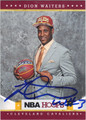 DION WAITERS CLEVELAND CAVALIERS AUTOGRAPHED ROOKIE BASKETBALL CARD #112813F