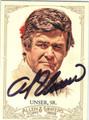AL UNSER SR AUTOGRAPHED NASCAR CARD #112813i