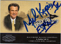 MEL KIPER AUTOGRAPHED FOOTBALL CARD #112813L