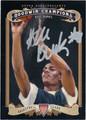 ALEC BURKS AUTOGRAPHED ROOKIE BASKETBALL CARD #112912J