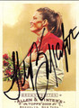 STEPHANIE BROWN TRAFTON AUTOGRAPHED CARD #11311H