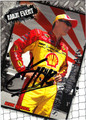 KEVIN HARVICK AUTOGRAPHED NASCAR CARD #11412G