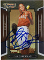 CAT OSTERMAN AUTOGRAPHED SOFTBALL CARD #11312Q