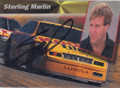 Sterling Marlin Autographed Racing Card 1151