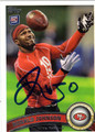 RONALD JOHNSON AUTOGRAPHED ROOKIE FOOTBALL CARD #11512H