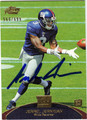 JERREL JERNIGAN AUTOGRAPHED & NUMBERED ROOKIE FOOTBALL CARD #11512K